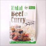 ハラルビーフカレー10個入ケース|Halal Beef Curry×10pack
