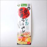 鶏ラーメン塩味(お土産用・30個入ケース・お箸入り)|Halal Chicken Salt Ramen with Chopsticks 30pack
