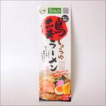鶏ラーメンしょうゆ味(お土産用・お箸入り)|Halal Chicken Soy Sauce Ramen with Chopsticks