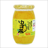 ゆず茶/かぐらの里(420g)|業務用/12個入|国産(宮崎県産)